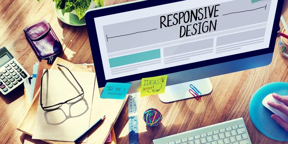 レスポンスデザインのWebサイト