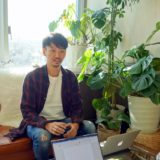 神戸起業操練所でインタビューを受ける才野