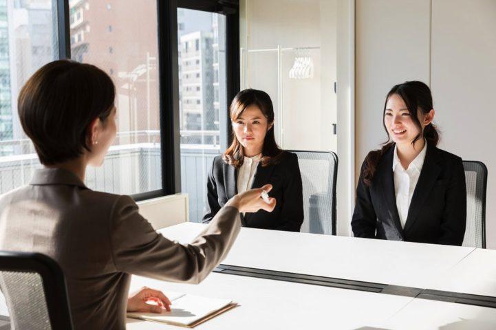 就職の採用面接
