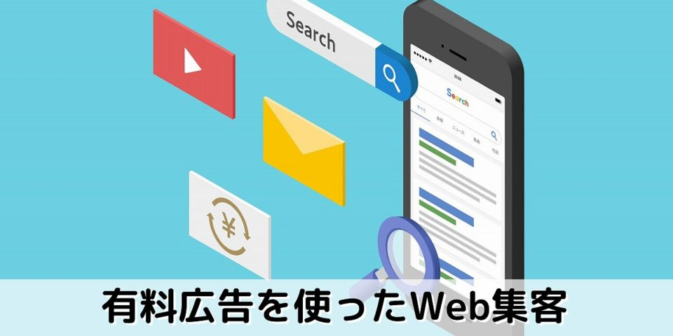 有料広告を使ったWeb集客