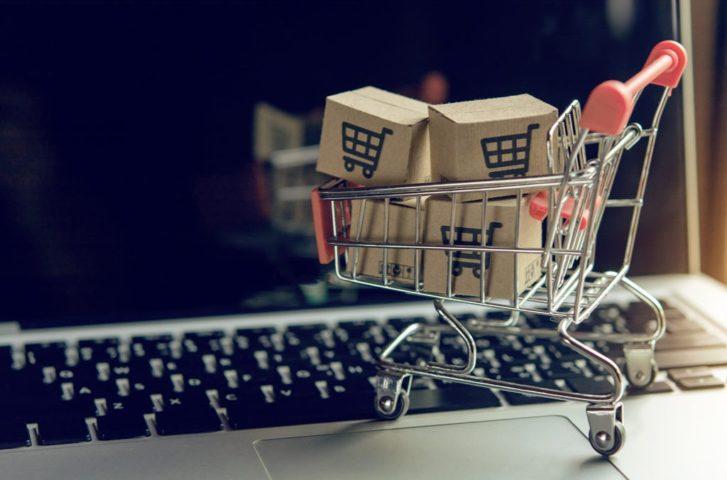 Webサイトのショッピングカートイメージ