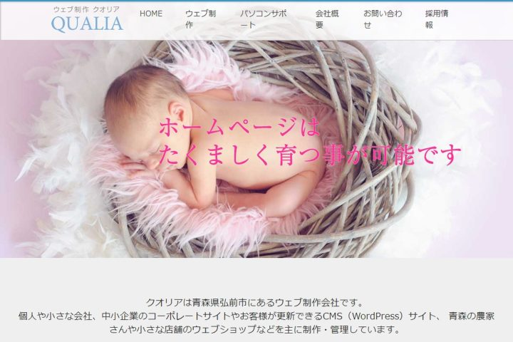 Web Design Qualia ウェブ制作クオリア